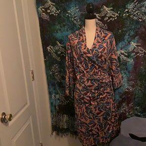 Geometrically gorgeous dress